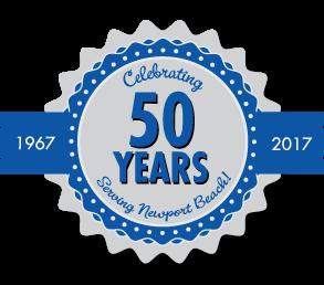 Burr White 50 years logo